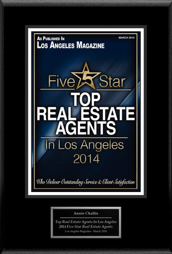 """Annie Challis Selected For """"Top Real Estate Agents In Los Angeles"""" (PRNewsFoto/American Registry)"""