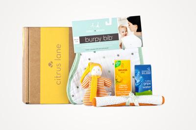 Citrus Lane Welcome Home Box.  (PRNewsFoto/Citrus Lane)