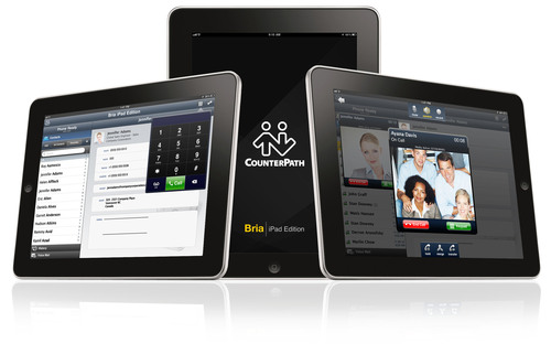 COUNTERPATH RELEASES BRIA FOR iPAD, THE WORLD's FIRST UNIVERSAL iOS SOFTPHONE