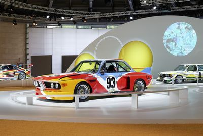 BMW Art Car exhibition at the Concorso d'Eleganza Villa d'Este 2015 (c) BMW AG, Photographer: Christian Kain