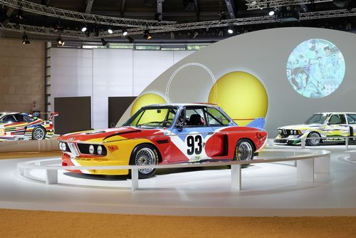 BMW Art Car exhibition at the Concorso d'Eleganza Villa d'Este 2015 (c) BMW AG, Photographer: Christian Kain (PRNewsFoto/BMW Group)