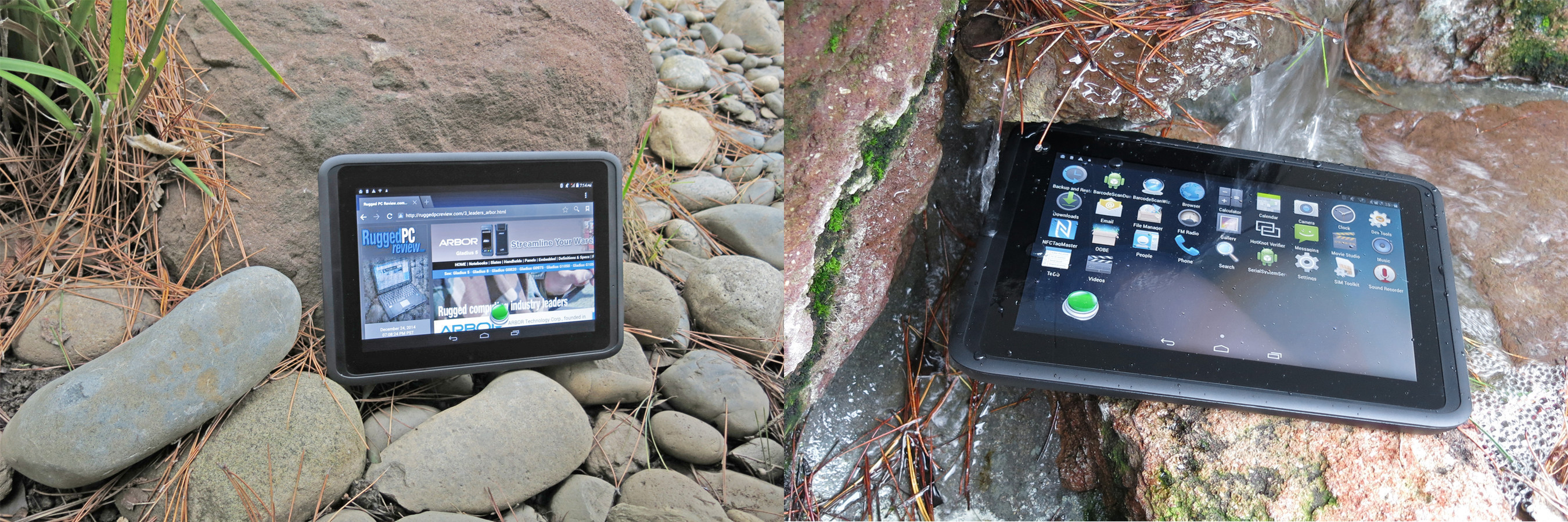 The Arbor Gladius 10 rugged Android tablet coming May 2015 has the advanced features, durability and ...