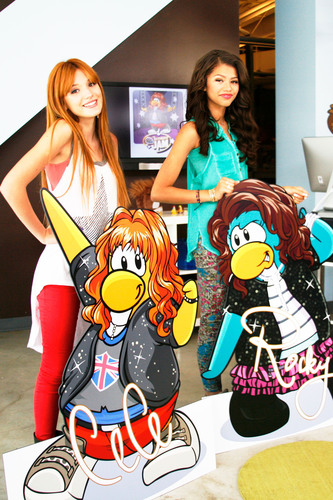 Disney's Club Penguin Kicks off the Ultimate Music and Dance Party Featuring CeCe and Rocky from