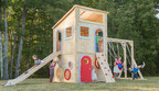 CedarWorks 2015 Launch of a New Outdoor Playhouse Collection