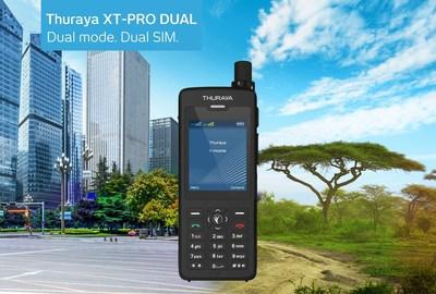 Компания Thuraya задает новые стандарты благодаря первому в мире двухрежимному телефону с двумя SIM-картами
