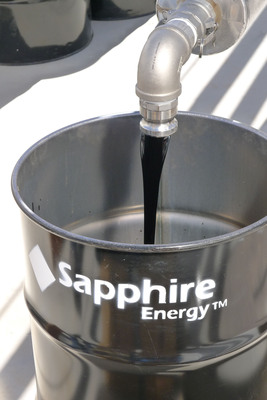 Sapphire Energy is producing Green Crude oil from algae year-round at the Green Crude Farm.