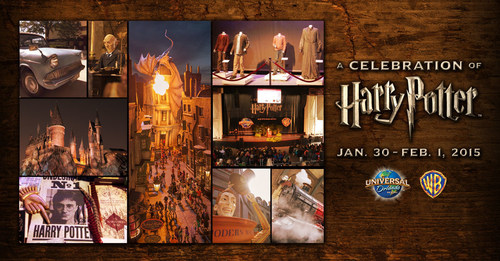 "UNIVERSAL ORLANDO RESORT AND WARNER BROS. TO HOST SECOND ANNUAL ""A CELEBRATION OF HARRY POTTER"" EVENT JANUARY 30, 2015 TO FEBRUARY 1, 2015. (PRNewsFoto/Universal Orlando Resort)"