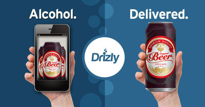 Drizly, the smartphone app for fast, convenient alcohol delivery, today became the first service of its kind to deliver beer throughout Manhattan and Brooklyn. (PRNewsFoto/Drizly Inc.)