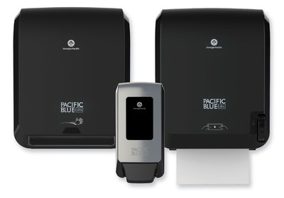 The new Pacific Blue Ultra line of paper towel and soap dispensers meets the everyday demands of facilities with special attention to efficiency, easy maintenance and affordability.