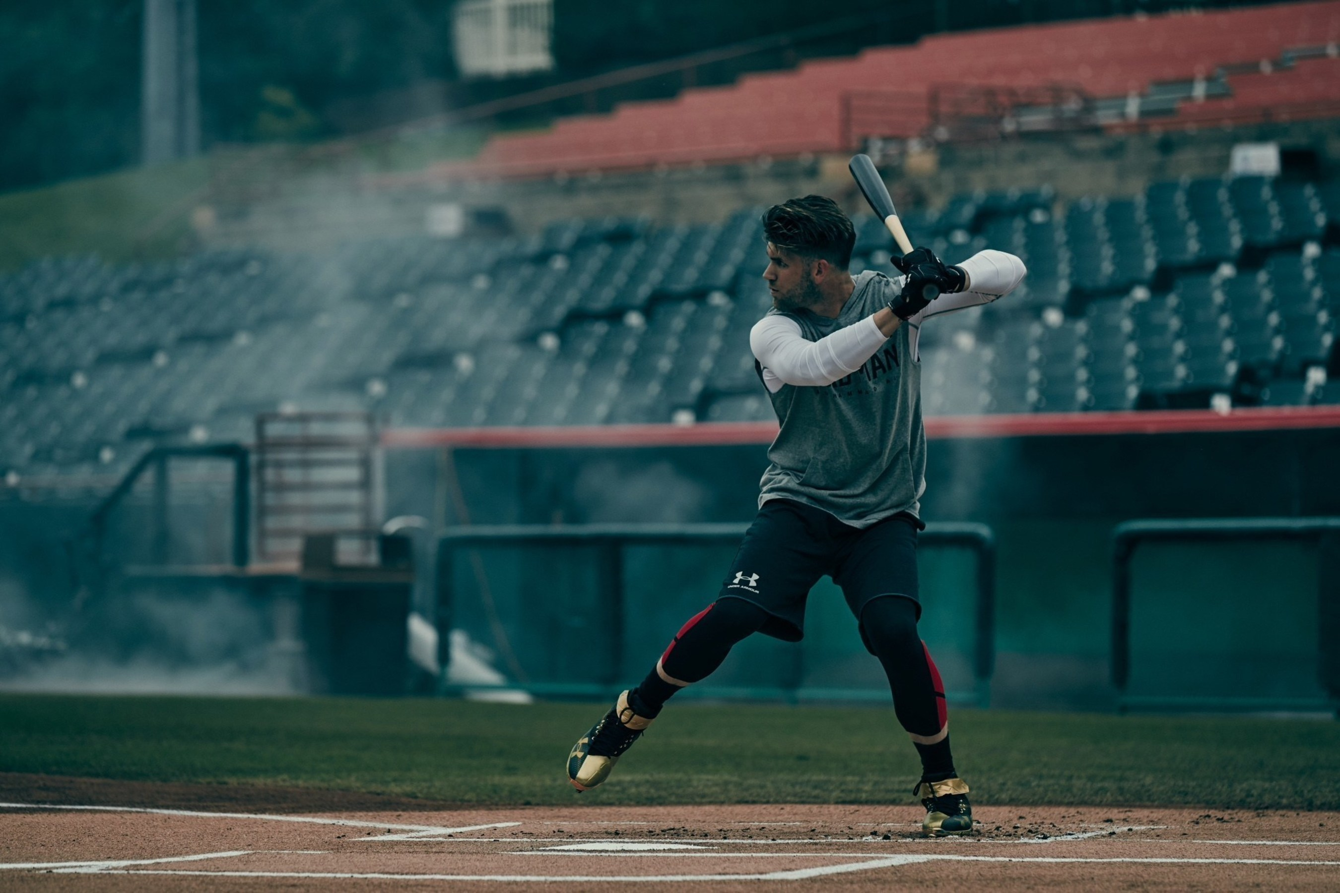 """UNDER ARMOUR LAUNCHES """"IT COMES FROM BELOW"""", A MULTI-SPORT CAMPAIGN FEATURING BRYCE HARPER, CAM NEWTON AND UNDER ARMOUR RUNNING"""