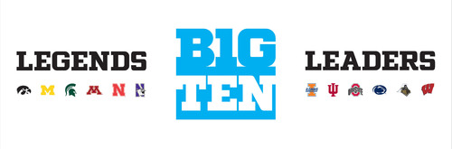 Big Ten Conference Reveals New Logo and Honors Football History With Division Names and Trophies