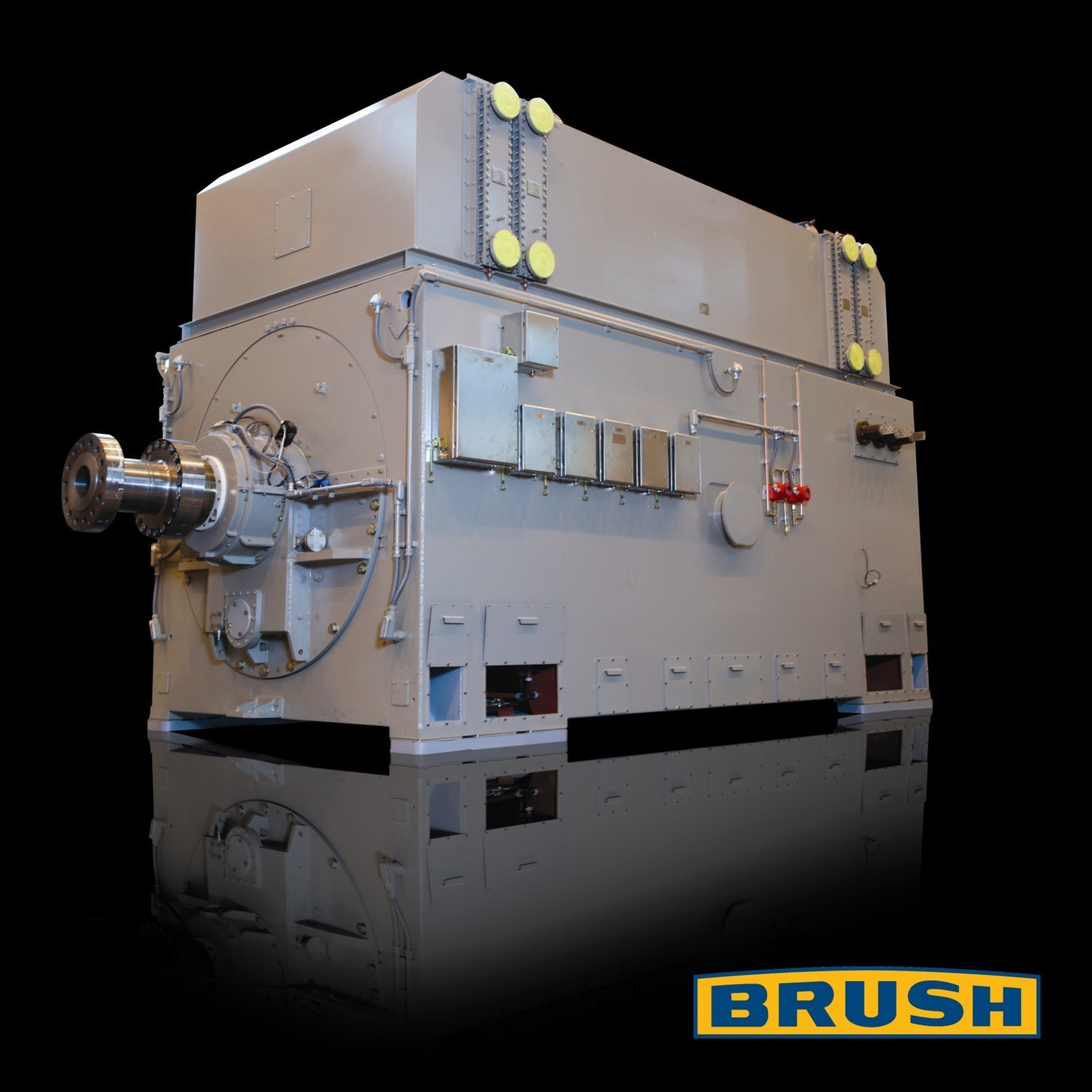 The Brush Group's  turbogenerator, boosting generator performance with ANSYS simulation technology.