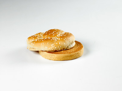 Arby's Vegetarian Roast Beef Sandwich: A toasted sesame seed bun minus Arby's famous thinly sliced roast beef, marinated and roasted in Arby's restaurants every single day. Available in Classic, Mid or Max sizes.