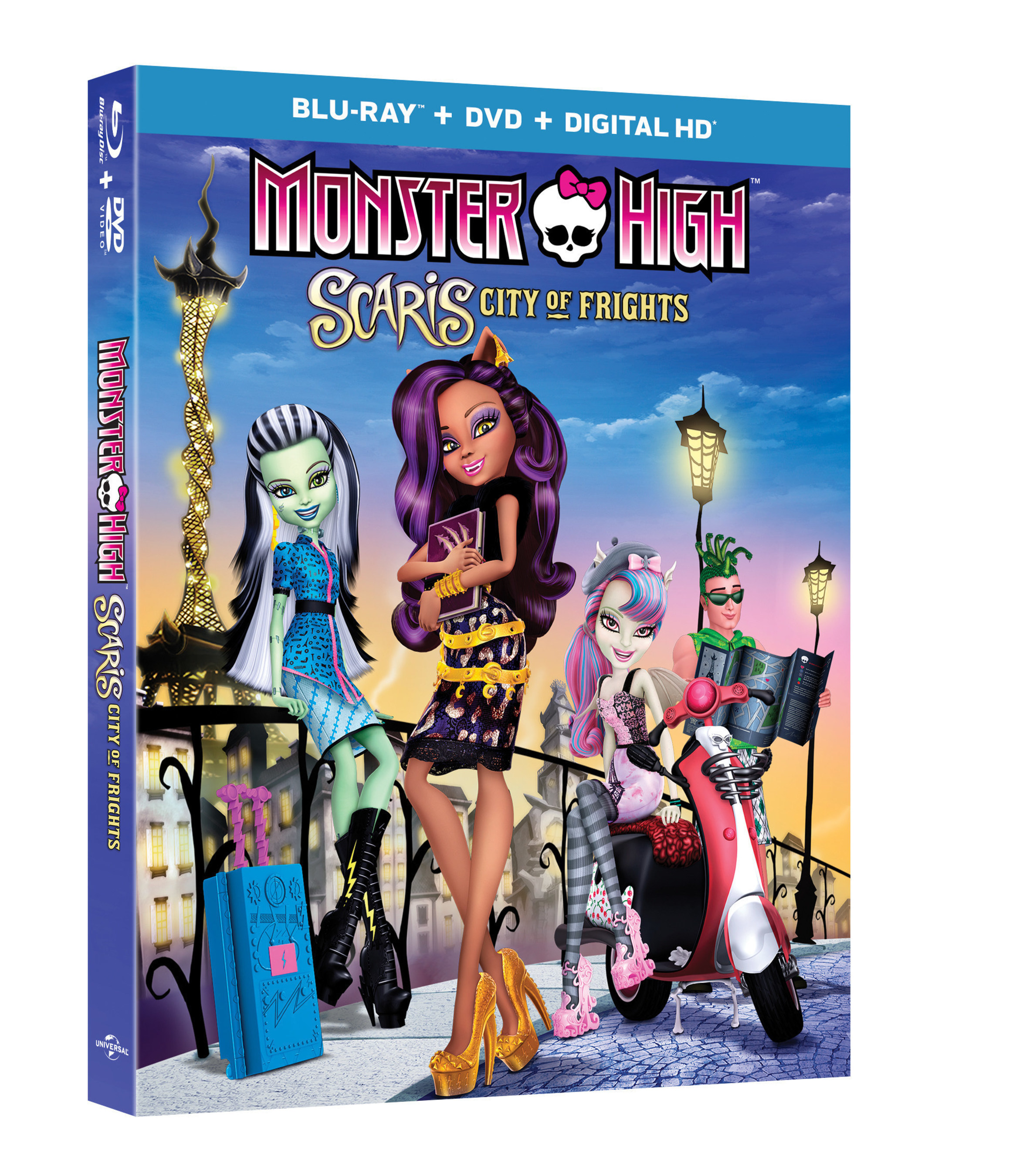 From Universal Pictures Home Entertainment: Monster High: Scaris: City of Frights