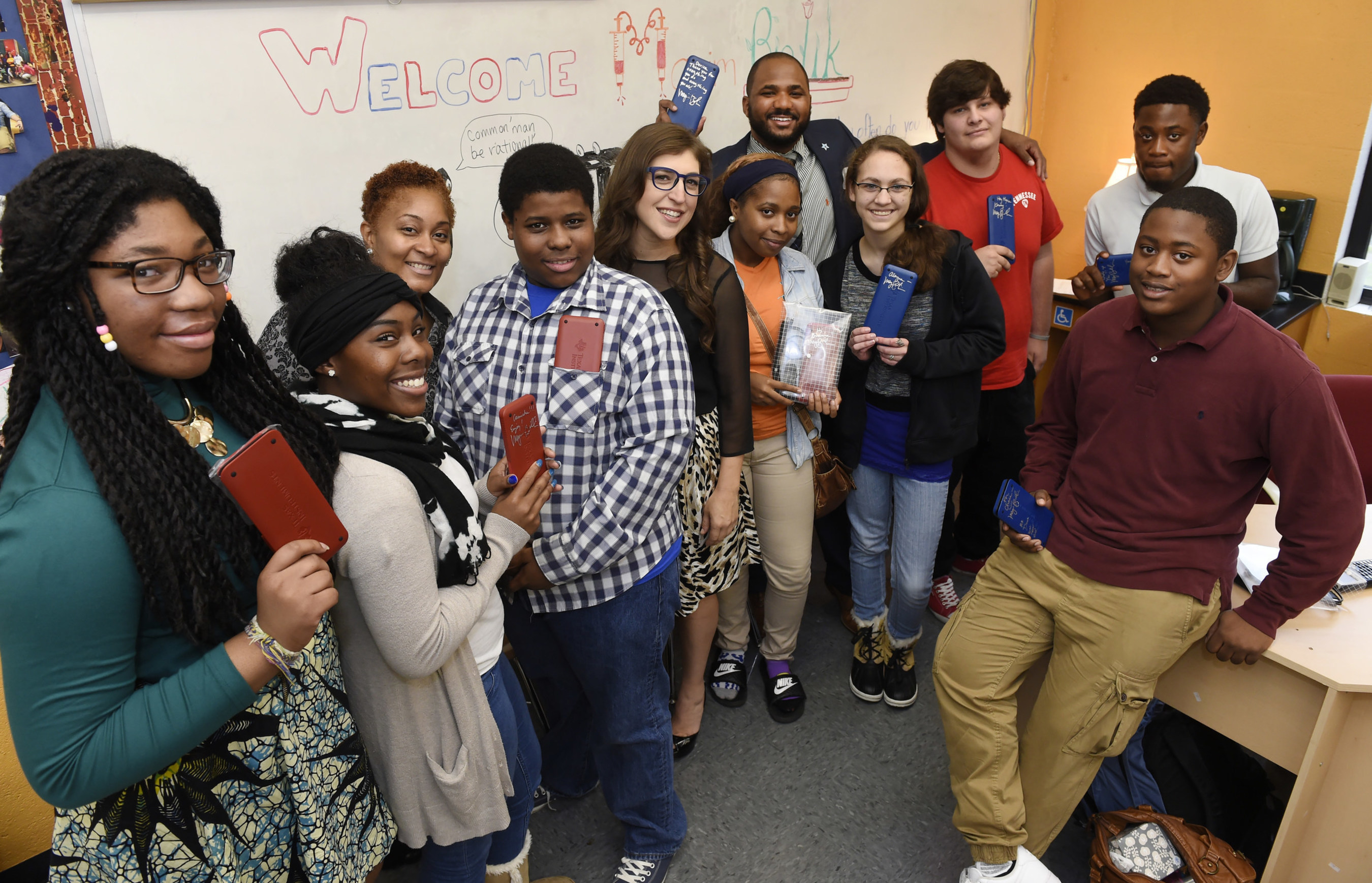 Nashville school wins celebrity classroom visit by showing calculator love