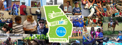 Georgia Gives Day 2014 brought in more than $2.2 million from nearly 18,000 donors for nonprofits across the state on Nov. 13, 2014. This total doubles the amounts raised during the first two years of the online event.