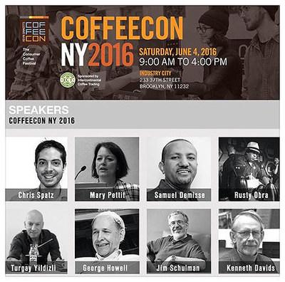 CoffeeConNY 2016 Speakers