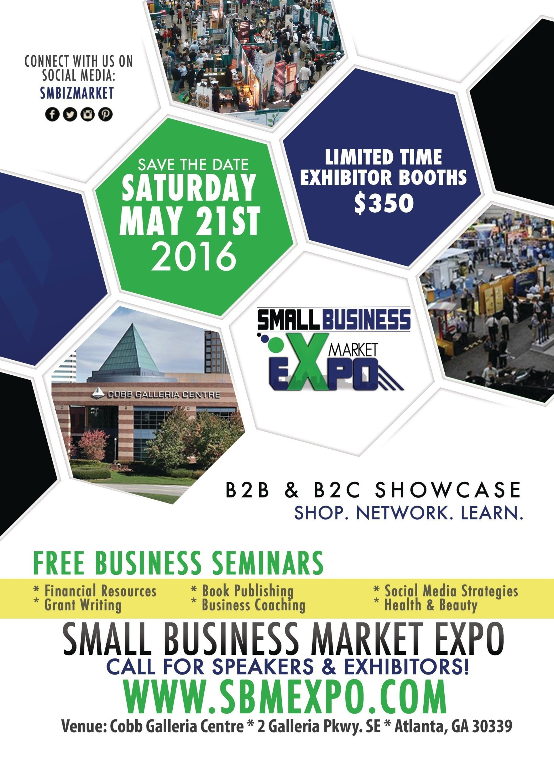 Small Business Market Expo Announces Expo Date and Keynote Speakers