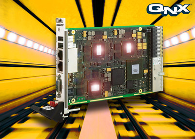 Redundant CompactPCI PlusIO SBC from MEN Micro Offers Safe Computing for Railway Operations (PRNewsFoto/MEN Micro Inc.)