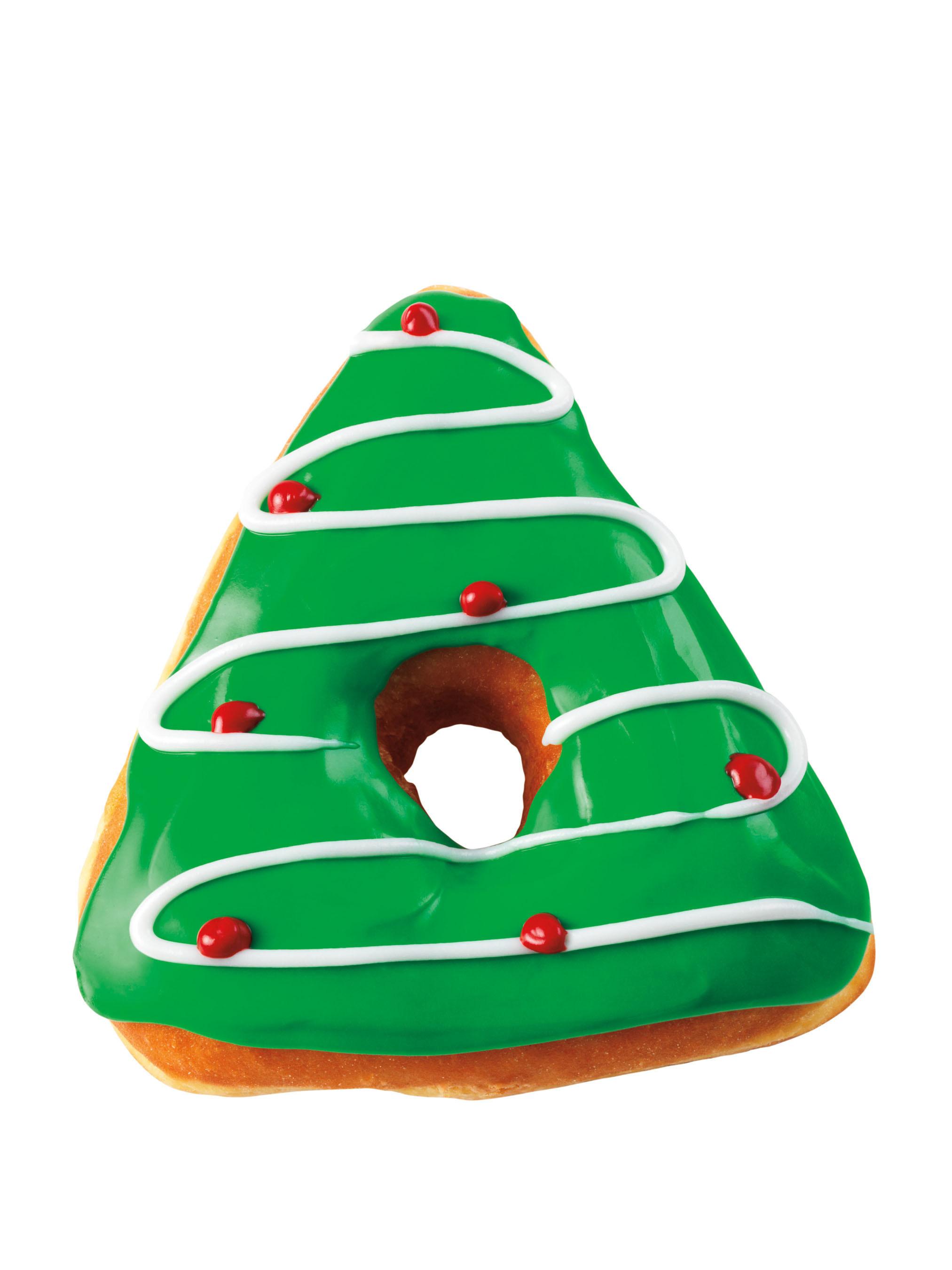 Dunkin' Donuts открывает сезон зимних праздников специальным рождественским пончиком
