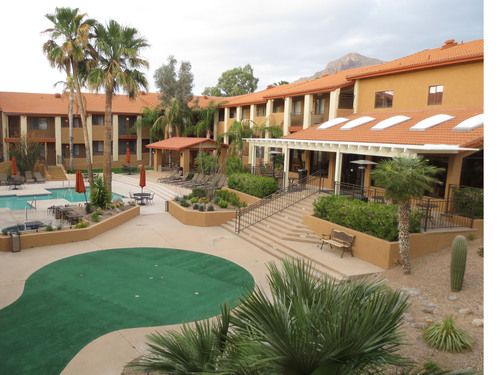 Red Lion signs franchise agreement on 155-room property in Tucson, Arizona, slated to convert to Red Lion Inn & Suites in May.  (PRNewsFoto/Red Lion Hotels Corporation)