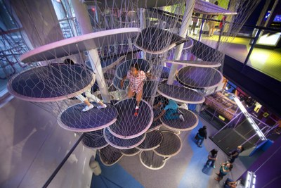 With signage in both English and Spanish, Children's Museum of Houston offers a multitude of exhibits bursting with action-packed fun geared toward engaging kids.