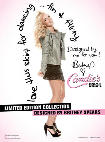 Britney Spears Designs Exclusive Limited Edition Collection For Candie's