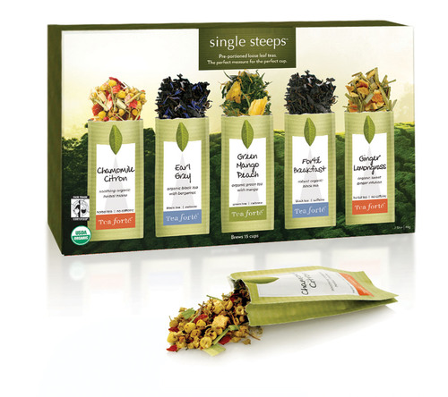 Tea Forte® Singles Out the Perfect Cup