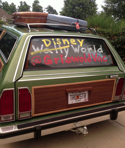 The Griswold Family takes a road trip to Walt Disney World.  (PRNewsFoto/Pixie Vacations)
