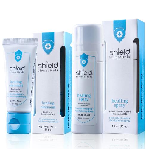 New Shield Biomedicals - Ointment and Spray.  (PRNewsFoto/Morinda Bioactives)