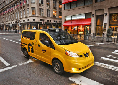 New York City Approves Nissan as Exclusive Taxi Provider.  (PRNewsFoto/Nissan North America)