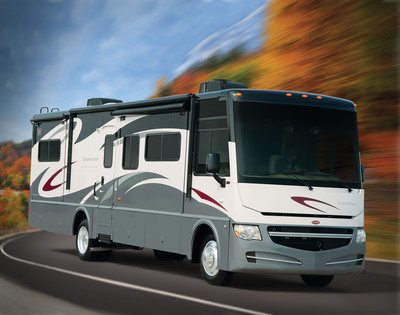 The new 2012 Winnebago Sightseer.  Photo courtesy of Winnebago Industries, Inc.  (PRNewsFoto/Winnebago Industries, Inc.)