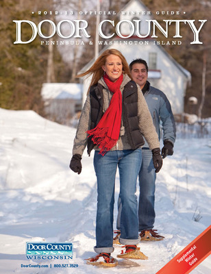 The Door County, Wisconsin 2013 winter guidebook provides visitors with a variety of winter travel information and trip ideas. View the online version here. Photo credit: Door County Visitor Bureau.