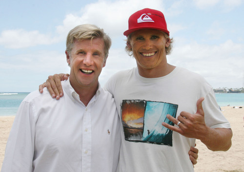Retina Institute of Hawaii is Proud to Announce Its Partnership with World Champion Paddleboarder,