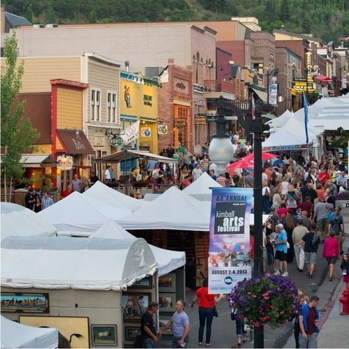 The 45th annual Park City Kimball Arts Festival happens August 1st through August 3rd on Park City's ...