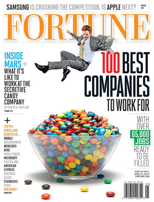 "Men's Wearhouse Named One of FORTUNE's ""100 Best Companies to Work For"".  (PRNewsFoto/Men's Wearhouse)"