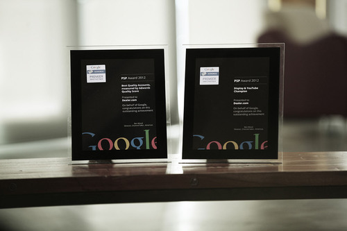 Dealer.com Receives Two North America Premier SMB Partner Awards from Google.  (PRNewsFoto/Dealer.com)