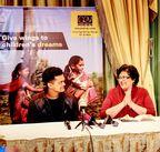 PR NEWSWIRE INDIA - (L) Slumdog Millionaire star Madhur Mittal and (R) Shefali Sunderlal, President CRY America, at the CRY America Gala Dinner