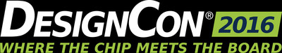 DesignCon, the premier conference for chip, board and systems design engineers in the high-speed communications and semiconductor communities will take place January 19-22, 2016 at the Santa Clara Convention Center in Santa Clara, CA.