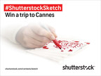 Shutterstock Sketch Offers Creatives Chance to Win Trip to Cannes Lions www.shutterstock.com/contests/sketch