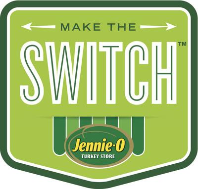 Jennie-O Make The Switch logo.  (PRNewsFoto/Jennie-O Turkey Store)