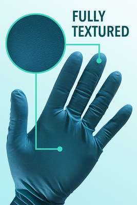 Fully Textured Single Use Gloves Improve Handling of Smooth or Slippery Surfaces and Small Components