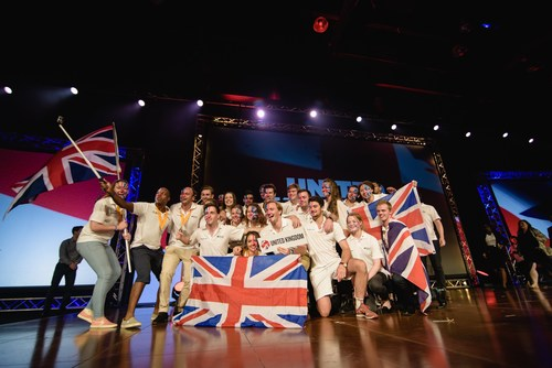 Enactus World Cup Semi-Finalist team from the United Kingdom (PRNewsFoto/Enactus) (PRNewsFoto/Enactus)