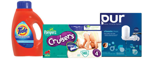 Procter & Gamble Showcases Future Friendly Products for Earth Month