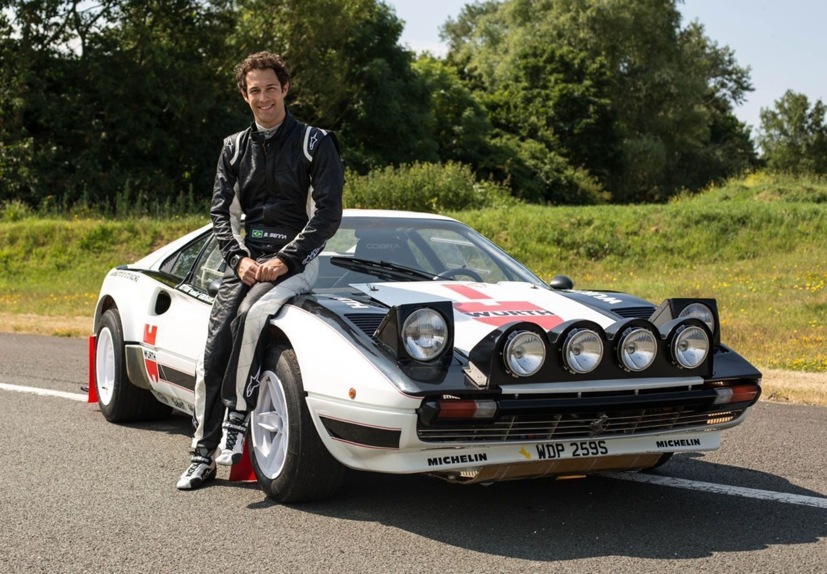Bruno Senna (PRNewsFoto/The Classic Car Show)