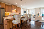 The Xavier model home at Cabin Branch in Clarksburg, MD, features up to 3 bedrooms, 4.5 baths and 2,429 square feet of living space. Enjoy deluxe personalization options such as hardwood floors, extended countertops and a wide array of finishes.