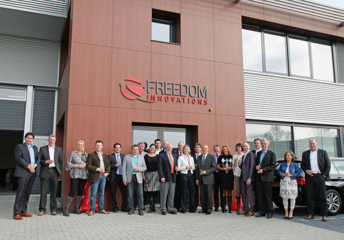 Freedom Innovations Opens New European Headquarters.  (PRNewsFoto/Freedom Innovations, LLC)