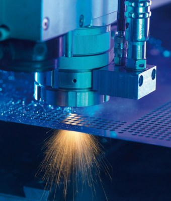 SST, a North American distributor of premium machinery brands, tooling and EDM supplies, announced an exclusive agreement with Synova to distribute Synova's unique Laser MicroJet (LMJ) M-series of 3 and 5-axes machines through its extensive sales channel. (PRNewsFoto/Synova S.A.)