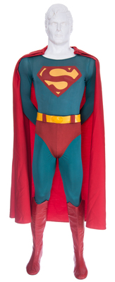 Original Christopher Reeve Superman Costume in Auction July 12 at ScreenUsed.com (PRNewsFoto/ScreenUsed)