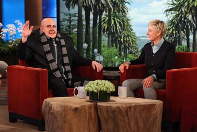 Steve Carrell as Despicable Me 2s Gru and Ellen on the Ellen Degeneres Show.  (PRNewsFoto/Universal Pictures)